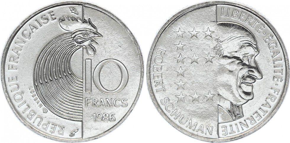 10 Francos. Francia (1986) France-10-francs-robert-schuman-1986-p-image-79205-grande