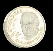 France 10 Francs Stendhal - Piefort 1983 - Argent - SPL