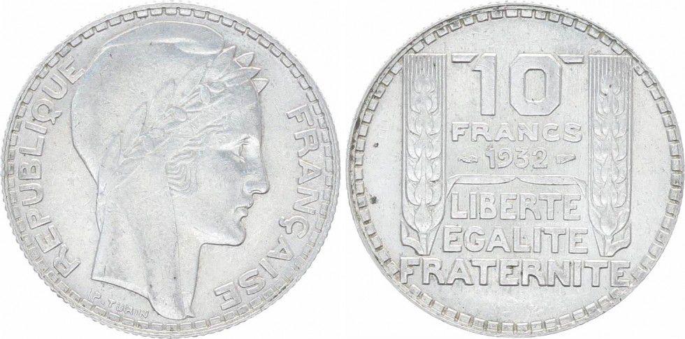 France 10 Francs Turin - 1932