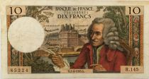 France 10 Francs Voltaire - 01-04-1965 Serial R.145 - F