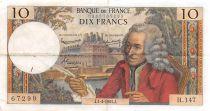 France 10 Francs Voltaire - 01-04-1965 Série H.147 - TTB+