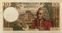 France 10 Francs Voltaire - 01-04-1965 Série R.145 - TB