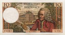 France 10 Francs Voltaire - 01-06-1972 Série L.772 - SUP