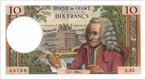 France 10 Francs Voltaire - 02-01-1964 Série S.65