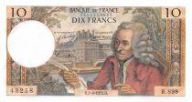 France 10 Francs Voltaire - 02-08-1973 Serial R.898 - UNC