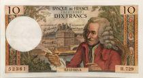 France 10 Francs Voltaire - 02-12-1971 Série H.729 - SUP