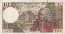 France 10 Francs Voltaire - 03-02-1966 Série N.226 - TB+