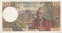 France 10 Francs Voltaire - 03-02-1972 Série A.744 - PTTB