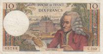 France 10 Francs Voltaire - 03-03-1966 Série C.240 - TB+