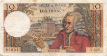 France 10 Francs Voltaire - 03-03-1966 Série V.235 - TB