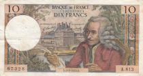 France 10 Francs Voltaire - 03-09-1970 - Série A.613