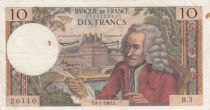 France 10 Francs Voltaire - 04-01-1963 Serial B.5 - F+