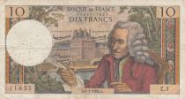 France 10 Francs Voltaire - 04-01-1963 Serial Z.1 - F+