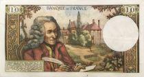 France 10 Francs Voltaire - 04-01-1973 Série B.870 - TTB