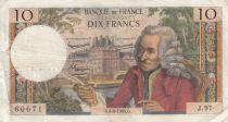 France 10 Francs Voltaire - 04-06-1964 - Série J.97