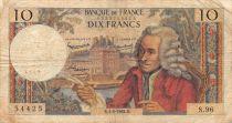 France 10 Francs Voltaire - 04-06-1964 Série S.96 - TB