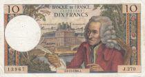 France 10 Francs Voltaire - 04-11-1966 Série J.270 - PTTB