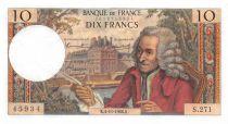 France 10 Francs Voltaire - 04-11-1966 Série S.271 - TTB+