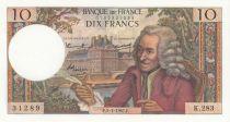 France 10 Francs Voltaire - 05-01-1967 Série K.283 - SPL