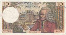 France 10 Francs Voltaire - 05-03-1970 Série O.571 - PTTB