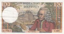 France 10 Francs Voltaire - 05-04-1973 Série Y.881 - TTB