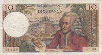 France 10 Francs Voltaire - 05-11-1965 Série U.190 - TB+