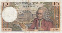 France 10 Francs Voltaire - 05-11-1971 - Série N.719
