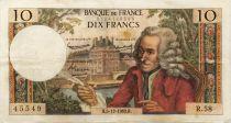 France 10 Francs Voltaire - 05-12-1963 Série R.58 - TTB
