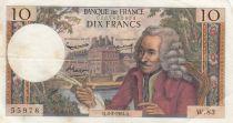 France 10 Francs Voltaire - 06-02-1964 - Série W.83