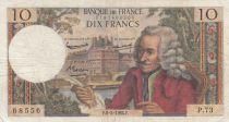 France 10 Francs Voltaire - 06-02-1964 Série P.73 - TB+