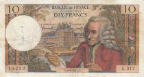 France 10 Francs Voltaire - 06-04-1967 - Série G.317