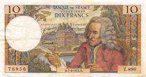 France 10 Francs Voltaire - 07-06-1973 Série Z.890 - PTTB