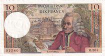 France 10 Francs Voltaire - 07-08-1969 - Série H.504 - TTB+