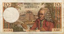 France 10 Francs Voltaire - 07-09-1972 Série E.822 - TB