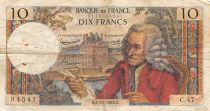 France 10 Francs Voltaire - 07-11-1963 Série C.47 - TB