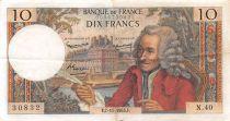 France 10 Francs Voltaire - 07-11-1963 Série N.40 - TTB+
