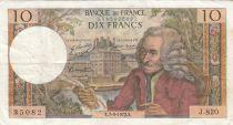 France 10 Francs Voltaire - 07-12-1972 - Série J.820