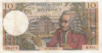 France 10 Francs Voltaire - 07-12-1972 - Série M.844