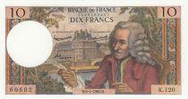 France 10 Francs Voltaire - 08-01-1965 - Série K.120