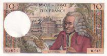France 10 Francs Voltaire - 08-01-1971 - Série B.648 - SPL