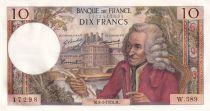 France 10 Francs Voltaire - 08-05-1970 Série W.589 - SPL