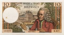 France 10 Francs Voltaire - 08-11-1973 Serial R.917 - VF