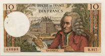 France 10 Francs Voltaire - 08-11-1973 Serial R.917 - XF