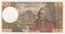 France 10 Francs Voltaire - 08-11-1973 Série K.936 - PTTB