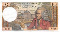 France 10 Francs Voltaire - 08-11-1973 Série P.933 - TTB