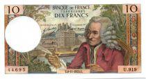 France 10 Francs Voltaire - 08-11-1973 Série U.919-44695