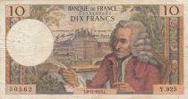 France 10 Francs Voltaire - 08-11-1973 Série Y.925 - TB