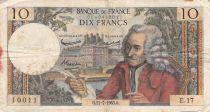 France 10 Francs Voltaire - 11-07-1963 Série E.17 - PTB