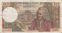 France 10 Francs Voltaire - 1963 to 1973 - F to VF