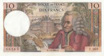 France 10 Francs Voltaire - F.505 - 07-08-1969